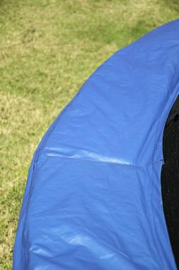 JumpKing 10 Feet Outdoor Trampoline and Safety Net Enclosure