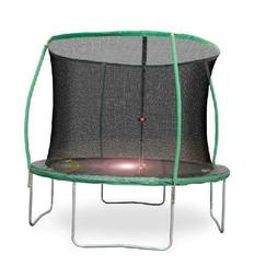 Bounce Pro 10-Foot Trampoline, with Enclosure and Flashlight