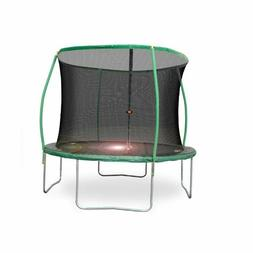 Bounce Pro 10' Steelflex Trampoline with Enclosure Net and F