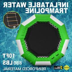 10Ft Inflatable  Bounce Water Bouncer Trampoline Water Sport