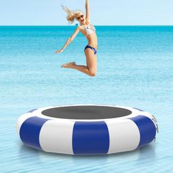 10'PVC Inflatable Water Trampoline Swim Platform for Water