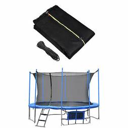 12/13/14/15ft Round Trampoline Enclosure Net Replacement 4 A
