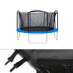 12/' 13/' 14/' 15/' Round Trampoline Enclosure Net Replacement 4 Arch 8 Pole Fence