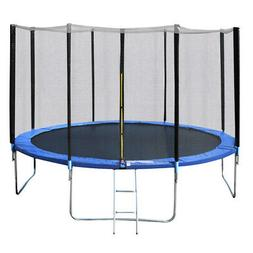 14 FT Recreational Trampoline Combo Bounce Jump Bed with Saf