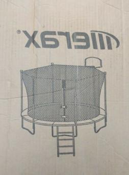 Merax 14 Ft Round Trampoline Replacement Poles and bars Only