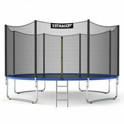 Giantex 14 FT Trampoline Combo Bounce Jump Safety Enclosure