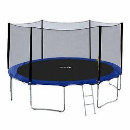Exacme 15 Foot Round Trampoline with Safety Pad, Enclosure N