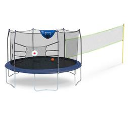 Skywalker 15' Round Sports Arena Trampoline and Enclosure -