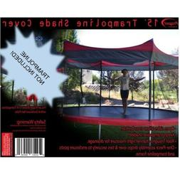 15' Trampoline Shade Cover Protection Canopy Outdoor Umbrell