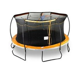 15' Trampoline with Electron Shooter Sports Power Steelflex