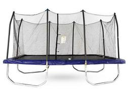15' x 9' Rectangle Trampoline & Safety Enclosure Walls Skywa
