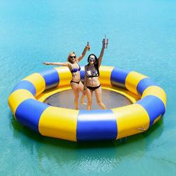 15ft Inflatable Water Bounce Platform Jump Floated Water Tra