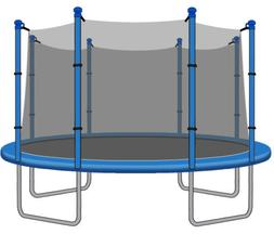 SkyBound 15ft Trampoline Net for Trampolines with 8 Poles
