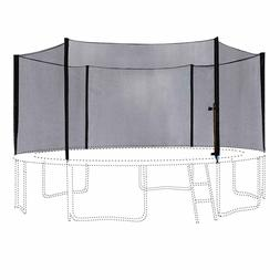 15ft Trampoline Outer Enclosure Netting with 6 Safety Net Po