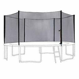 ExacMe 16FT Trampoline Outer Safety Net Enclosure 6 Poles 61