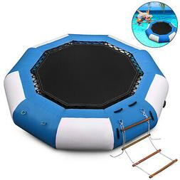 17Ft Inflatable Bounce Water Bouncer Trampoline Swimming Jum