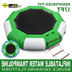 17Ft Inflatable  Bounce Water Bouncer Trampoline Swimming Is