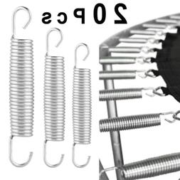 20pcs Heavy Duty Steel Trampoline Spring Replacement Part Ac
