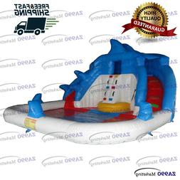 20x20ft Commercial Inflatable Bounce Water Slide & Pool With