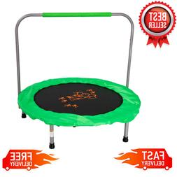 36-Inch Bouncer Trampoline Jumper With Handle Bar Fun Play F