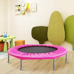 38 Inch Fitness Bungee Trampoline Exercise Rebounder With Re