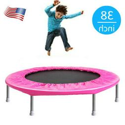"""38"""" Inch Mini Fitness Trampoline Adults and Kids Indoor Outd"""