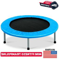 "38"" Mini Fitness Trampoline Rebounder Kids Aerobic Step Exer"