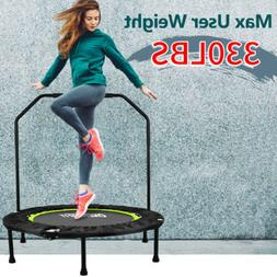 "40"" 12ft Mini Round Trampoline Rebounder Foldable Exercise W"