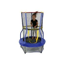 Skywalker Trampolines 40-Inch Bounce-N-Learn Trampoline, wit