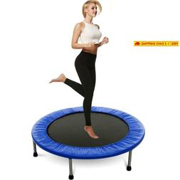 Balanu 40 Inch Mini Exercise Trampoline For Adults Or Kids -