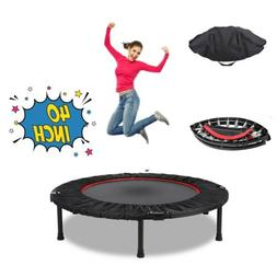 40'' Mini Fitness Trampoline Training Workouts Jump Equipmen