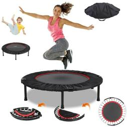 40'' Mini Fitness Trampoline Training Workouts Jumping Equip