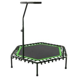 "40"" Trampoline With Adjustable Handrail Bouncing Workout Exe"