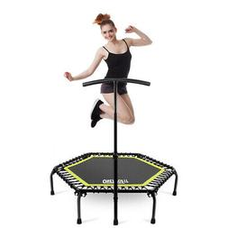 """OneTwoFit 45""""Mini Jump Trampoline Home Gym Yoga Exercise Fit"""