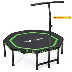"Movtotop 48"" Folding Indoor Trampoline, Portable Exercise Tr"