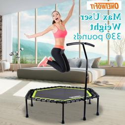 "OneTwoFit 48"" Mini Jump Trampoline Home Gym Yoga Exercise Fi"