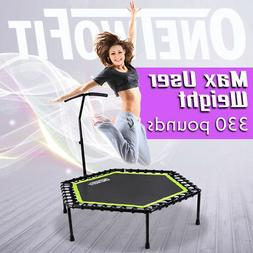 100cm/122cm Mini Round Trampoline Foldable Fitness Jumpe Bou