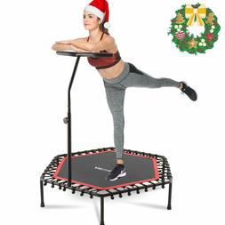 """50"""" Trampoline Fitness Exercise Fitness Gym Rebounder Cardio"""