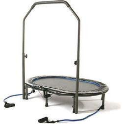 55 inch trampoline intone oval jogger handlebar