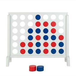 Giant 4 in a Row Board Game For Adults Kids Family Yard Acti