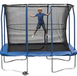 7 x 10 Foot Rectangular Trampoline Kid Patented Enclosure He