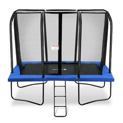Exacme 7x10 Foot Rectangle Trampoline with Enclosure 6184-07