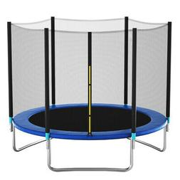 8 FT Recreational Trampoline Combo Bounce Jump Bed with Safe