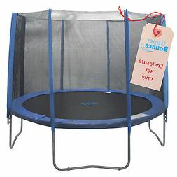 Upper Bounce 8 Pole Trampoline Enclosure Set to fit 10 FT. T
