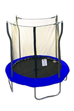 Kinetic Trampolines Trampoline with Enclosure, 8'
