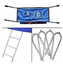 Skywalker Trampolines Accessory Game Kit with Ladder
