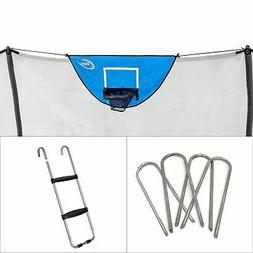 Skywalker Trampolines Accessory Kit with Basketball Game, Wi