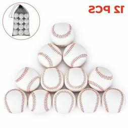 Zupapa Bag of 12 Baseballs Standard Size Soft Cushioned Safe