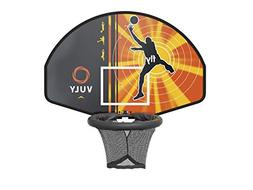 Vuly Basketball Hoop and Ball Set Compatible Trampolines 360