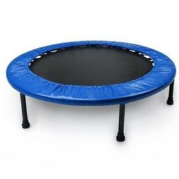 "Blue 38"" Mini Rebounder Trampoline Game Play Sports Recreati"